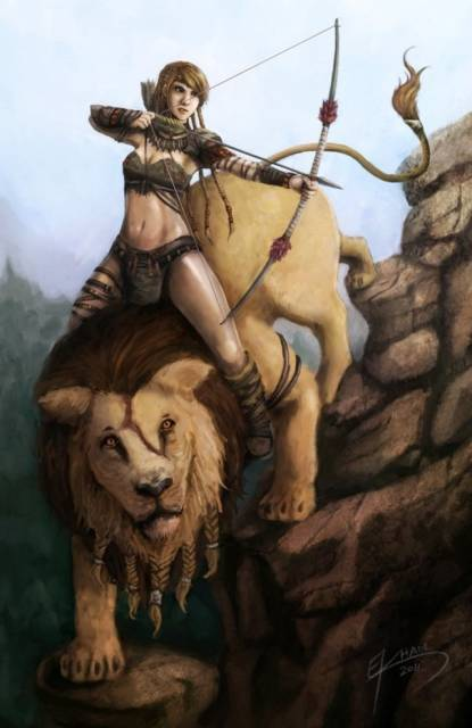 Anime - Male Lion (7 years)